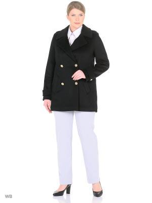 Пальто Shokolat. Цвет: черный