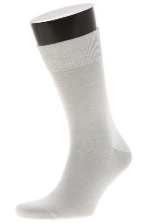 Носки TELLER. Цвет: светло-серый