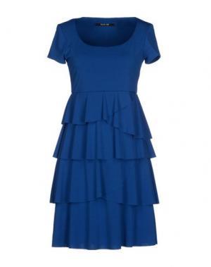 Короткое платье NADINE. Цвет: синий
