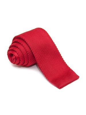 Галстук Churchill accessories. Цвет: малиновый, красный, светло-коралловый