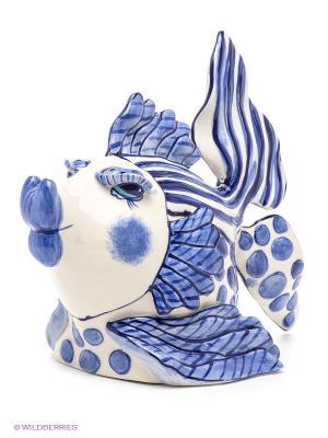 Фигура Рыба Blue Sky. Цвет: синий