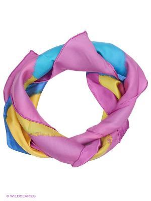 Платок Venera. Цвет: сиреневый, розовый, желтый, синий