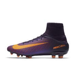 Футбольные бутсы для игры на твердом грунте  Mercurial Veloce III Dynamic Fit Nike. Цвет: пурпурный