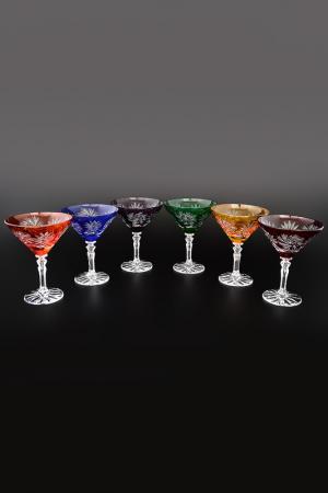 Набор бокалов, мартини 180 мл Bohemia. Цвет: прозрачный