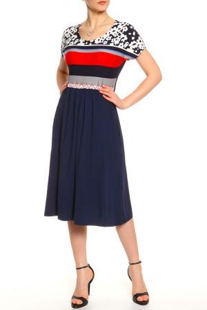 Платье Camelia. Цвет: темно-синий
