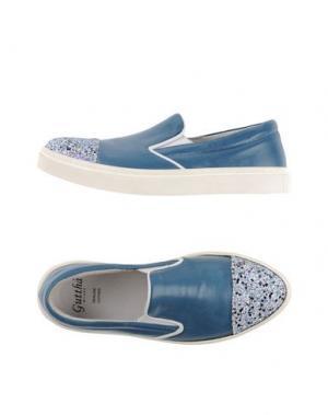 Низкие кеды и кроссовки GUTTHA. Цвет: грифельно-синий