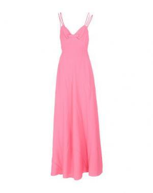 Длинное платье MOSCHINO CHEAP AND CHIC. Цвет: розовый