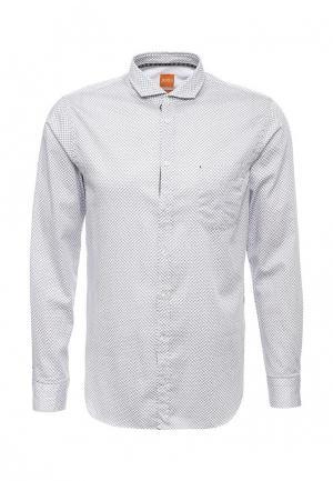 Рубашка Boss Orange. Цвет: белый