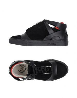 Высокие кеды и кроссовки DEL TORO. Цвет: черный