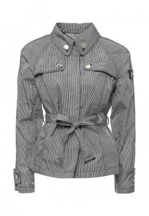Куртка Husky. Цвет: черно-белый