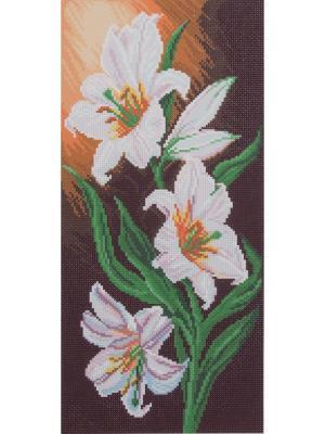 Рисунок на канве Белоснежная элегантность Матренин Посад. Цвет: белый, коричневый
