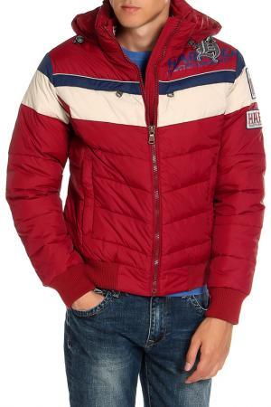 Куртка HARTWEAR. Цвет: красный