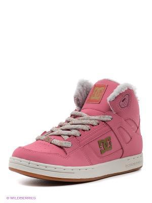 Кеды DC Shoes. Цвет: красный