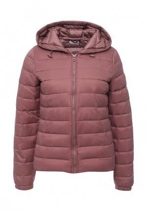 Куртка утепленная Jacqueline de Yong. Цвет: розовый