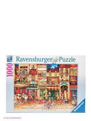 Пазл Улицы Франции, 1000 деталей Ravensburger. Цвет: белый, синий, красный