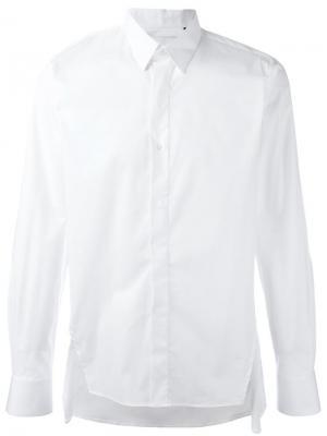 Рубашка классического кроя Matthew Miller. Цвет: белый