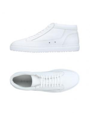 Высокие кеды и кроссовки ETQ AMSTERDAM. Цвет: белый