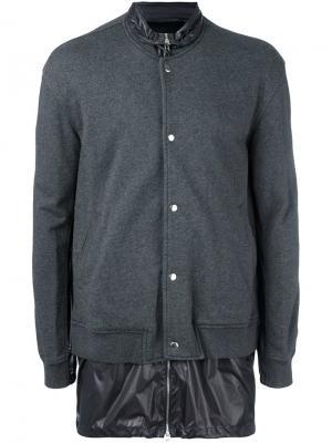 Двухслойная куртка 3.1 Phillip Lim. Цвет: серый