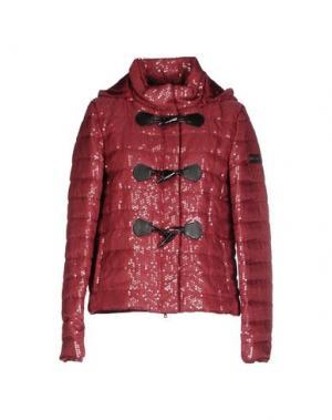 Куртка TOY G.. Цвет: красно-коричневый
