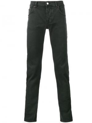 Узкие джинсы Balenciaga. Цвет: чёрный