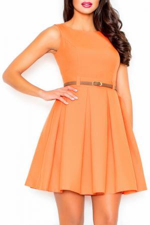 Платье Figl. Цвет: оранжевый