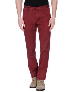 Повседневные брюки REPORTER. Цвет: красно-коричневый