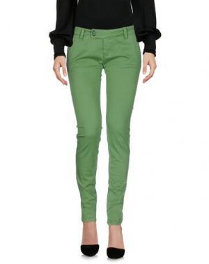 Повседневные брюки SHOCKLY. Цвет: зеленый