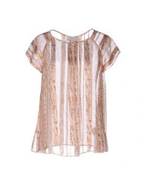 Блузка KRISTINA TI. Цвет: розовый