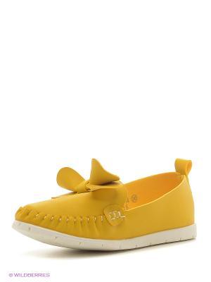 Балетки Vitacci. Цвет: желтый