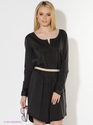 Платье American Outfitters. Цвет: темно-серый, золотистый