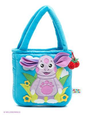 Мягкая игрушка-сумочка Лунтик Мульти-пульти. Цвет: голубой