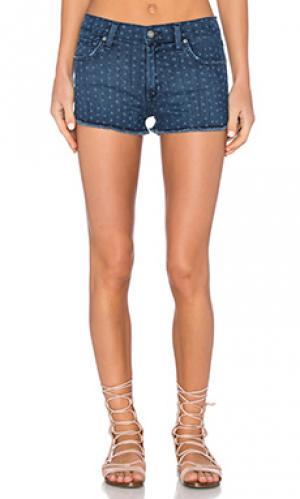 Джинсовые шорты sugar James Jeans. Цвет: none