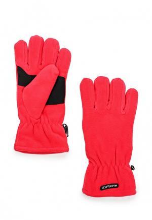Перчатки горнолыжные Icepeak. Цвет: красный