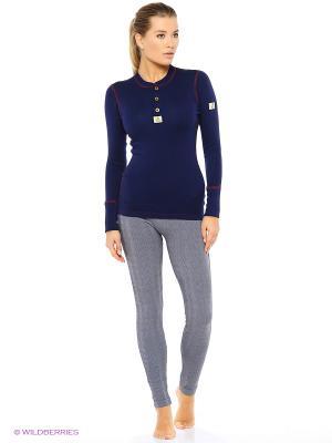 Свитер Design wool (термобельё) Janus. Цвет: синий