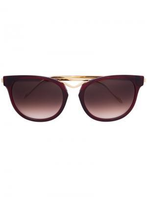 Солнцезащитные очки Chromaty Thierry Lasry. Цвет: красный