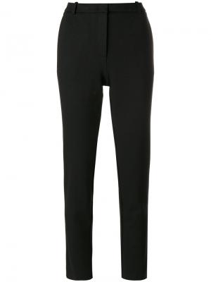 Slim-fit cropped trousers Kiltie. Цвет: чёрный