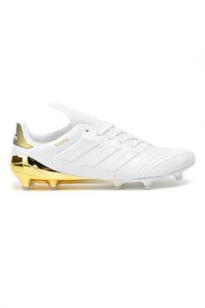 Футбольные бутсы (мяг.покр.) adidas. Цвет: золотистый