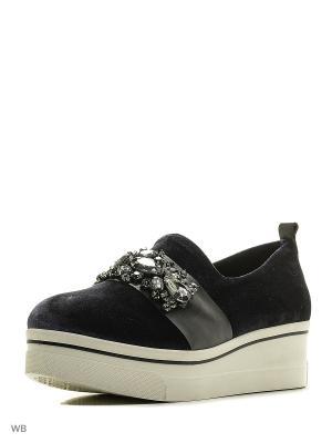 Туфли Tucino. Цвет: черный, сливовый