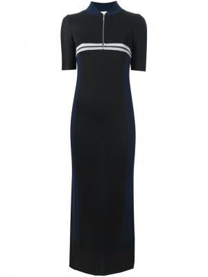 Длинное платье Cheryl Circus Hotel. Цвет: чёрный