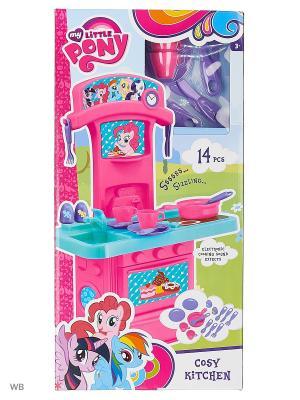 Мини-кухня My Little Pony HTI. Цвет: лазурный, розовый, морская волна, фуксия