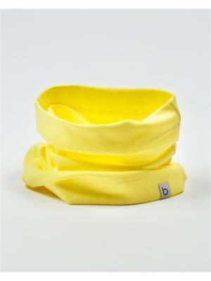 Снуд BODO. Цвет: светло-желтый
