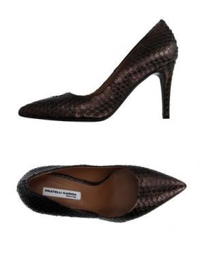 Туфли FRATELLI KARIDA. Цвет: бронзовый