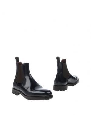 Полусапоги и высокие ботинки REGAIN. Цвет: темно-синий