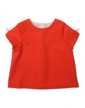 Блузка HUCKLEBONES. Цвет: красный