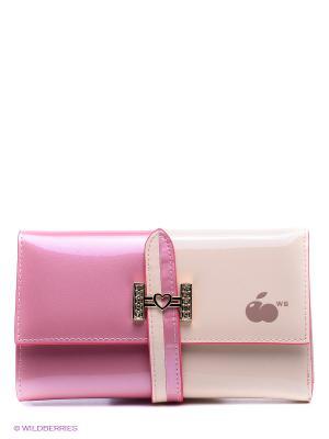 Кошелек WB. Цвет: розовый, кремовый