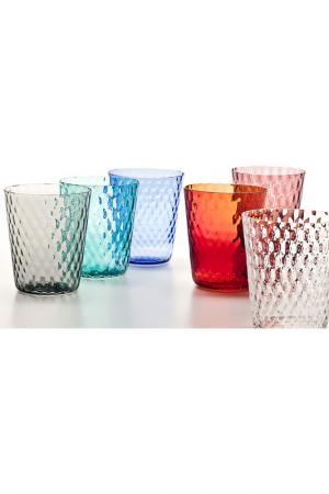 Бокал для сока и воды Zafferano. Цвет: мультицвет