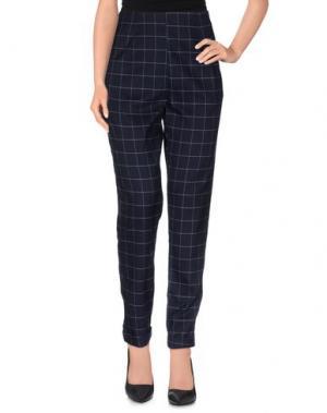 Повседневные брюки SOLARIS. Цвет: темно-синий