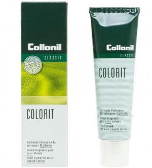 Крем-восстановитель цвета для изделий из гладкой кожи Collonil. Цвет: красный
