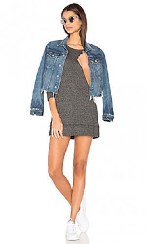 Свитшот мини платье Wilt. Цвет: черный
