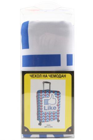 Чехол на чемодан SOVA COVER. Цвет: лайк